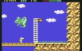 Impossamole Commodore 64 The second boss is a dragon