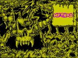 Mythos ZX Spectrum Load screen