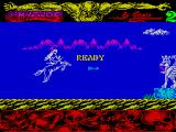 Mythos ZX Spectrum Second life. Started shooting arrows straight away but the snake spitting thing seems immune.