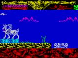 Mythos ZX Spectrum Immediately after the green blob were four dancing skulls.