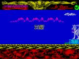 Mythos ZX Spectrum Game over. 