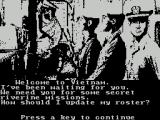 Gunboat ZX Spectrum This leads to the player id &rank screen