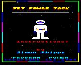 Jet Power Jack BBC Micro Second loading screen