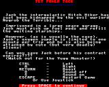 Jet Power Jack BBC Micro General Instructions.