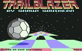 Trailblazer Commodore 64 Title screen