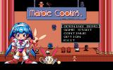 Marble Cooking PC-98 Title screen