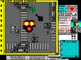 Soviet ZX Spectrum Two ground cars and a chopper boxed the tank in and killed it