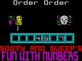 Sooty's Fun With Numbers ZX Spectrum ... and works up to five numbers missing