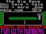 Sooty's Fun With Numbers ZX Spectrum Sooty's Race