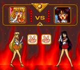 Bishōjo Senshi Sailor Moon Collection TurboGrafx CD Rock-paper-scissors game begins