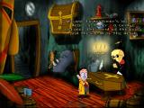 "Tony Tough and the Night of Roasted Moths Windows The game is a standard cartoon style ""point and click"" adventure."