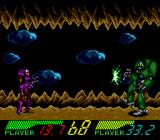 Blackhole Assault TurboGrafx CD Powerful charged attack. Enemy has no chance