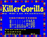 Killer Gorilla Electron Original Micro Power loading screen