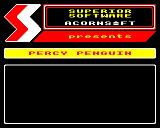 Percy Penguin Electron Standard Superior software loading screen