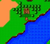Bodyconquest II: Kyūseishu TurboGrafx-16 World map