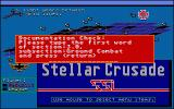 Stellar Crusade Atari ST Copy protection
