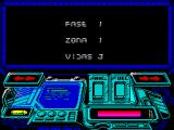 Buggy Ranger ZX Spectrum Looks like its possible to restart at different points / levels in the game