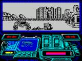 Buggy Ranger ZX Spectrum This looks like an obstacle but isn't - the buggy climbs this happily