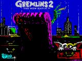 Gremlins 2: The New Batch ZX Spectrum Load screen 3