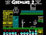 Gremlins 2: The New Batch ZX Spectrum Not too much further on and there are more and more Gremlins. Even when the skateboarding Gremlin is killed contact with the skateboard costs a life