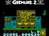 Gremlins 2: The New Batch ZX Spectrum There are lots of places to jump onto, the backs of the chairs is not an obvious one