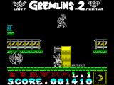 Gremlins 2: The New Batch ZX Spectrum Beset by Gremlins in roll-cages and with jet-packs