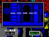 Hostage: Rescue Mission ZX Spectrum Playing as operative Delta first