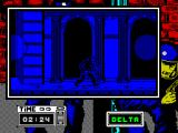 Hostage: Rescue Mission ZX Spectrum Making a dash to the right