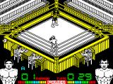 Poli Díaz ZX Spectrum The bell rings and the sparring match begins