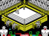 Poli Díaz ZX Spectrum Both boxers are landing punches