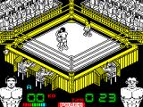 Poli Díaz ZX Spectrum Its a KO. Jose is going down