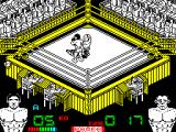 Poli Díaz ZX Spectrum The ref comes over and waves his arm up & down as he counts  to ten