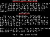 Plotting ZX Spectrum This copyright notice appears very briefly at the start of the load sequence