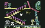 Olli & Lissa 3: The Candlelight Adventure Commodore 64 These enemies bounce around the place.