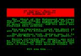 Sultan's Maze Amstrad CPC Instructions (II)