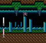 Blaster Master NES Even underwater, SOPHIA the tank holds up