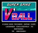 Super Spike V'Ball NES Title