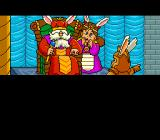 Seiryū Densetsu Monbit TurboGrafx CD Intro. It's hard to trust a monarch with bunny ears growing out of his crown