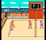 Super Spike V'Ball NES Beautiful background with yachts...