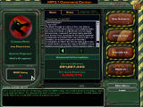 MechWarrior 4: Mercenaries Windows Your campaign command center: check out your stats, news and organize your forces for the next mission.