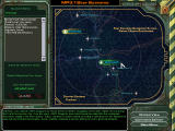 MechWarrior 4: Mercenaries Windows Star system selection: Go where the action is.