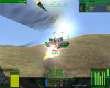 MechWarrior 4: Mercenaries Windows A little close to use missiles but what the heck...
