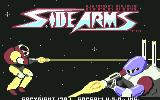 Side Arms Hyper Dyne Commodore 64 Title screen