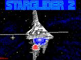 Starglider 2 ZX Spectrum Main load screen.