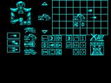 X-Out ZX Spectrum Column 1 is the kind of primary gun, 1,2 or 3 shots