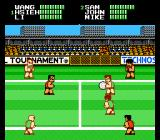 Super Dodge Ball NES China vs. USA