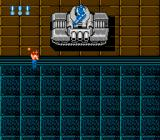 Super Contra NES A tank is blocking the way