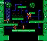 Super Contra NES Winged demons attacking