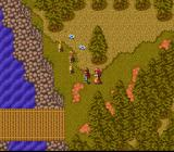 Tenshi no Uta: Shiroki Tsubasa no Inori SNES At night, at the river bank... talking to animals :)