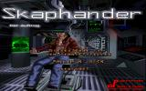 Skaphander: Der Auftrag DOS Title screen